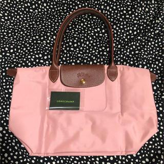 ロンシャン(LONGCHAMP)の極美品 ロンシャン♡プリアージュ  トートバッグS ピンク(トートバッグ)