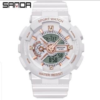 日本未発売 大人気ダイバーズウォッチ高級ブラックデジアナ防水腕時計Sショック(腕時計(デジタル))