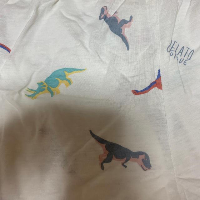 gelato pique(ジェラートピケ)のジェラートピケ ダイナソー 巾着付き レディースのルームウェア/パジャマ(ルームウェア)の商品写真