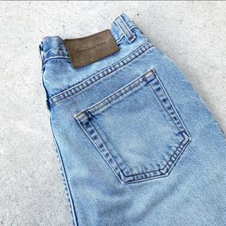 Calvin Klein - 90年代 USA製 Calvin Klein デニム バギーパンツ アイスブルー