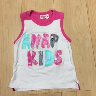 アナップキッズ(ANAP Kids)の100㎝タンクトップ(Tシャツ/カットソー)