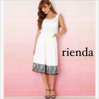 リエンダ(rienda)のrienda リボン ガウチョ ロンパース♡リゼクシー Delyle NOIR(オールインワン)