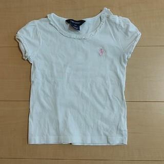 ラルフローレン(Ralph Lauren)のRALPH LAUREN フリルカットソー24M(Tシャツ/カットソー)