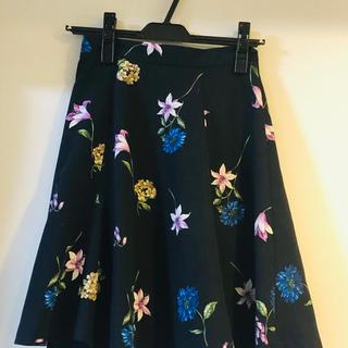 リランドチュール(Rirandture)のRirandture  花柄スカート(ひざ丈スカート)