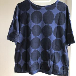 マリメッコ(marimekko)のmarimekko マリメッコ カットソー ユニクロUNIQLO 海外限定(Tシャツ(半袖/袖なし))