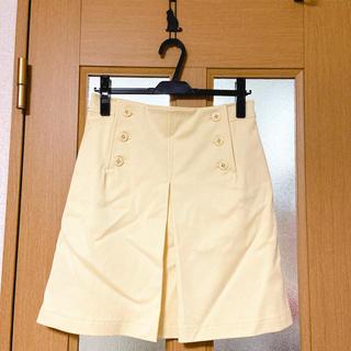 アンタイトル(UNTITLED)の新品未使用 untitled スカート(ひざ丈スカート)