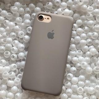 iPhone - 箱なし iPhone8 ココア シリコンケース 純正