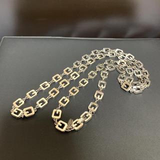 GIVENCHY - GIVENCHY ジバンシー  極上美品 ロゴモチーフ ロング ネックレス