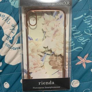 リエンダ(rienda)のiPhoneXR スマホケース(iPhoneケース)
