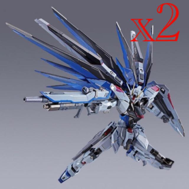 BANDAI(バンダイ)の2体セット METAL BUILD ガンダム SEED CONCEPT2 エンタメ/ホビーのおもちゃ/ぬいぐるみ(模型/プラモデル)の商品写真