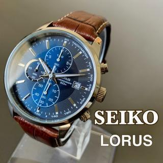 セイコー(SEIKO)の【新品】セイコー ローラス★SEIKO LORUS クロノグラフ メンズ腕時計(腕時計(アナログ))