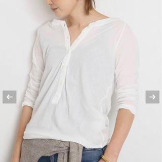 ドゥーズィエムクラス(DEUXIEME CLASSE)のDeuxieme Classe Henly テンジク T ホワイト(Tシャツ(長袖/七分))