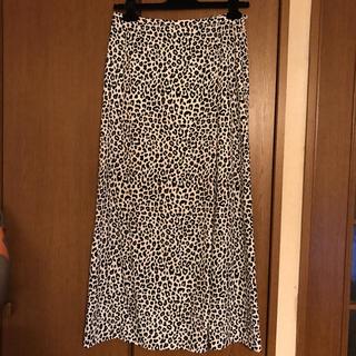 ビューティアンドユースユナイテッドアローズ(BEAUTY&YOUTH UNITED ARROWS)の未使用 ビューティアンドユース 豹柄 ロングスカート(ロングスカート)