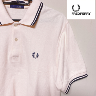 フレッドペリー(FRED PERRY)のFred Perry フレッドペリー  ポロシャツ  薄ピンク(ポロシャツ)
