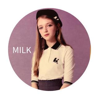 MILK - MILK プードル ポロシャツ