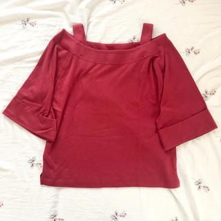 レトロガール(RETRO GIRL)のRETRO GIRL ♩ オフショルトップス Tシャツ(カットソー(半袖/袖なし))