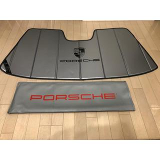 ポルシェ(Porsche)のPORSCHE ポルシェ 911カレラ サンシェード US純正品(車内アクセサリ)
