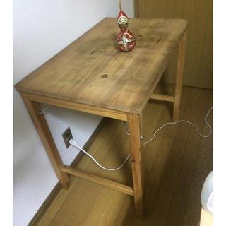 MUJI (無印良品) - パイン材 テーブル 折りたたみ式 muji MUJI 無印良品 机 マラカス