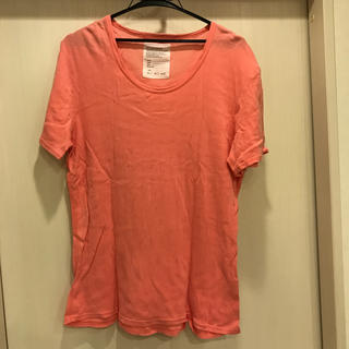 ナノユニバース(nano・universe)のナノユニバース ピンクTシャツ サイズ40 (Tシャツ/カットソー(半袖/袖なし))