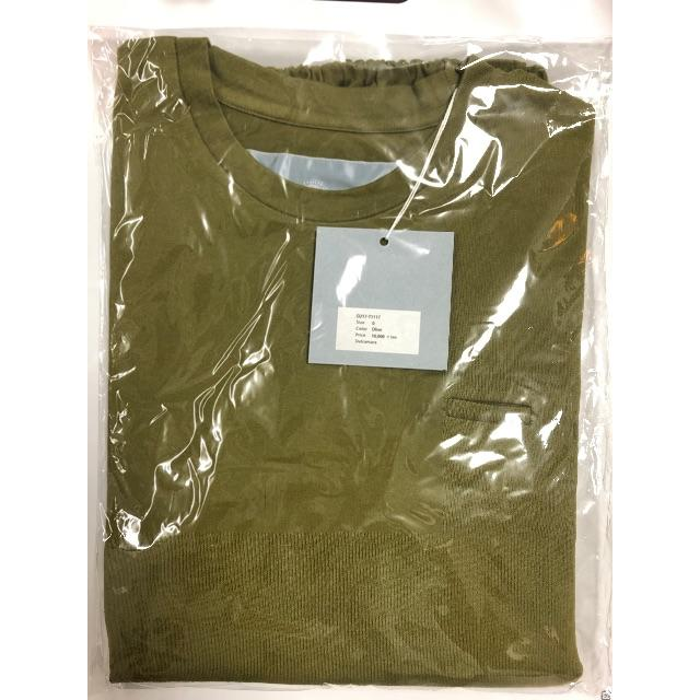 Dulcamara(ドゥルカマラ)のDulcamara balloon long tee メンズのトップス(Tシャツ/カットソー(七分/長袖))の商品写真