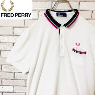 フレッドペリー(FRED PERRY)のフレッドペリー ポロシャツ ゴルフウェア 日本製 刺繍ロゴ XL(ポロシャツ)