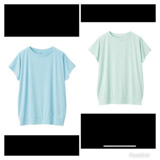 MUJI (無印良品) - 新品 MUJI★Tシャツ カットソー トップス フレンチ Tシャツ 2枚