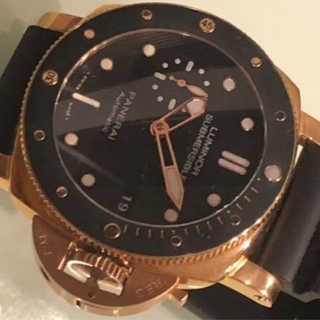 断捨離 34800円均一 自動巻腕時計 PAMサブマシーブルGOLD