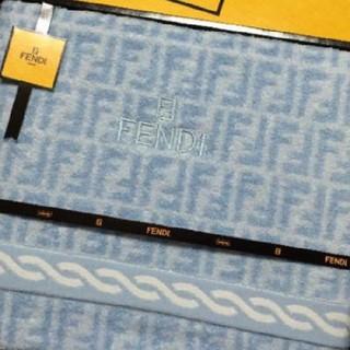 フェンディ(FENDI)のFENDIバスタオル(タオル/バス用品)