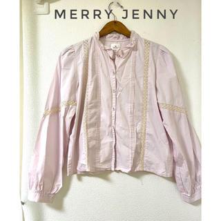 メリージェニー(merry jenny)のmerry jenny ブラウス シャツ(シャツ/ブラウス(長袖/七分))
