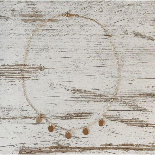 ALEXIA STAM(アリシアスタン)のコインネックレス jua レディースのアクセサリー(ネックレス)の商品写真
