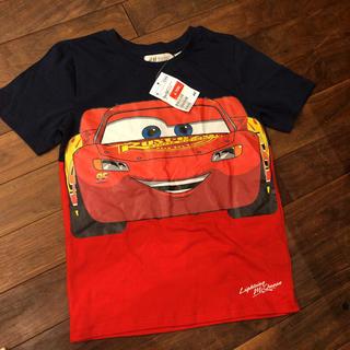 H&M - 【キッズ】新品 H&M カーズ Tシャツ 120〜130