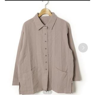 トゥデイフル(TODAYFUL)のTODAYFUL  ジャガードストライプシャツ(シャツ/ブラウス(長袖/七分))