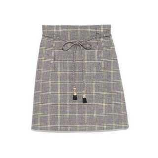 リリーブラウン(Lily Brown)のLily Brown チェック台形スカート(ミニスカート)