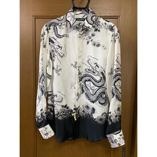 DOLCE&GABBANA - DOLCE &GABBANA シルクドレスシャツ