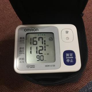 オムロン(OMRON)のOMRON hemー6130血圧計(健康/医学)