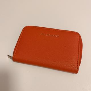 JILLSTUART - ジルスチュアート ミニ財布 レッド JILLSTUART カードケース 小銭入れ