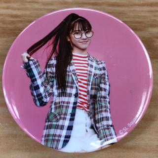 SONY - Girls2☆缶バッジ ☆みなみちゃん☆ミナミ☆私がモテてどうすんだ