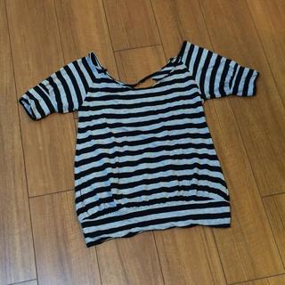 マウジー(moussy)のマウジー カットソー Tシャツ(Tシャツ(半袖/袖なし))