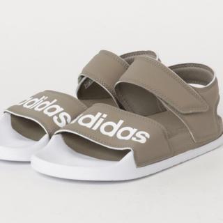 adidas - ⁂ アディダス フラットサンダル 24.5