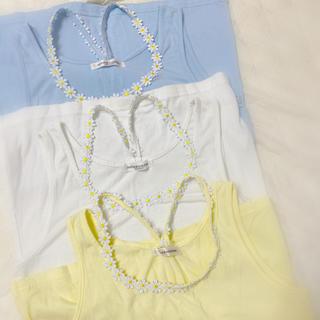 ナチュラルクチュール(natural couture)の❁❁マーガレットストラップ タンクトップ❁❁(タンクトップ)