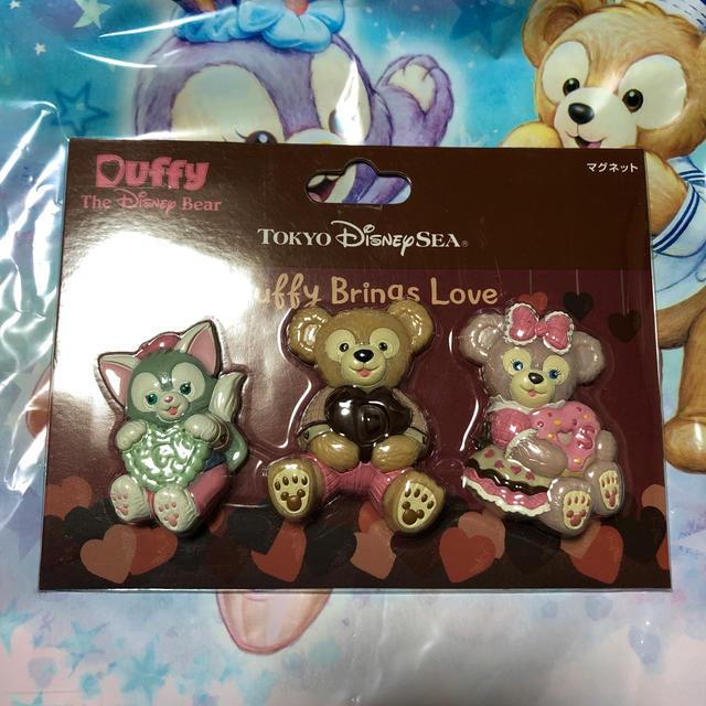 Disney(ディズニー)の2017 スウィートダッフィー マグネット エンタメ/ホビーのおもちゃ/ぬいぐるみ(キャラクターグッズ)の商品写真