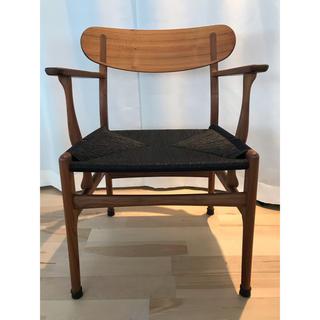 アクタス(ACTUS)のカールハンセン&サン ウェグナー CH26 ウォールナット チェア 椅子(ダイニングチェア)