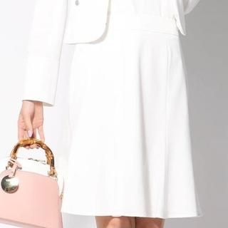 QUEENS COURT - 【美品】Queens Court スーパーライトポンチマーメイドスカート