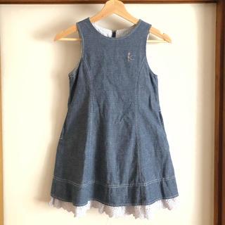 kumikyoku(組曲) - 美品 クミキョク ジャンパースカート 120 130 ワンピース