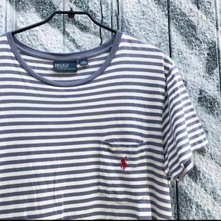 POLO RALPH LAUREN - Polo by Ralph Lauren ボーダー ポケットTシャツ 古着