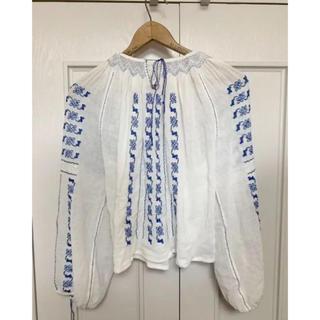 ホリデイ(holiday)のvintage  ルーマニア刺繍 tops(シャツ/ブラウス(長袖/七分))