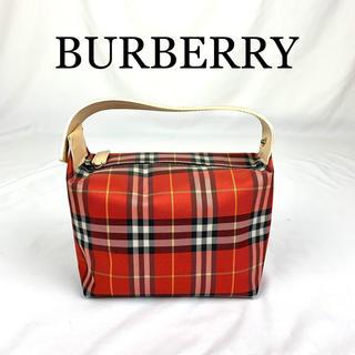 BURBERRY - 極美品 BURBERRY  バーバリー  定番 ミニハンドバッグ