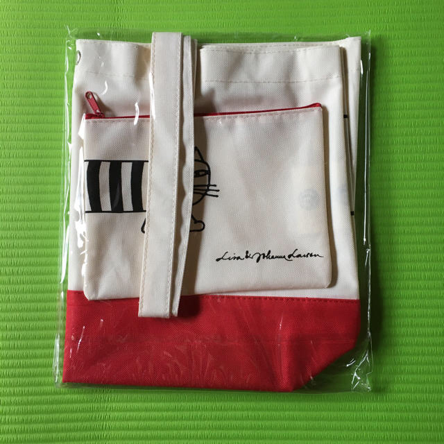 Lisa Larson(リサラーソン)のリサ・ラーソン オリジナル バッグ&ポーチ リサラーソン エンタメ/ホビーのコレクション(ノベルティグッズ)の商品写真