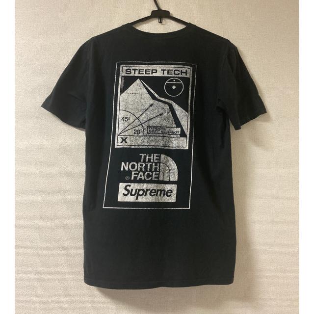 Supreme(シュプリーム)のSサイズsupreme×TheNorthFace steep tech Tee メンズのトップス(Tシャツ/カットソー(半袖/袖なし))の商品写真
