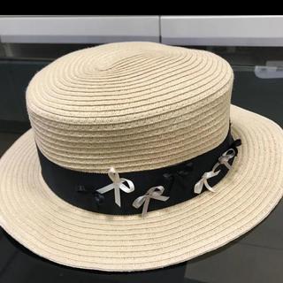 トッカ(TOCCA)のTOCCA トッキッズ 麦わら帽子 ハット 56センチ(帽子)